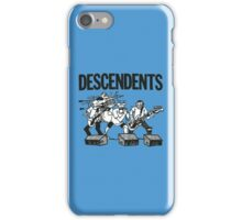 Descendents Cartoon iPhone Case/Skin