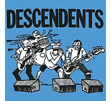 Descendents Cartoon Photographic Print