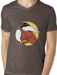 Halloween Squirrel Mens V-Neck T-Shirt