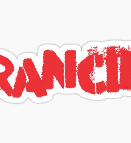 Rancid Logo Sticker