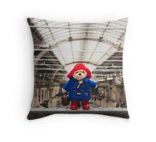 Paddington in Paddington Throw Pillow