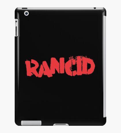 Rancid Logo iPad Case/Skin
