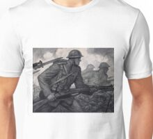 Soldiers Advancing - WWI - Władysław T. Benda - ca.1918 Unisex T-Shirt
