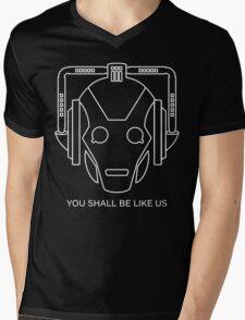 Cyberman You Shall Be Like Us Mens V-Neck T-Shirt