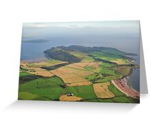 Isle of Bute South. Kilchattan Bay. Greeting Card