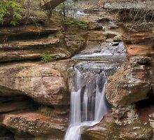 Hocking Hills, Old Man's Cave Upper Falls by Dan Dexter