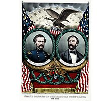Grand banner of the radical democracy for 1864 - 1864 Photographic Print