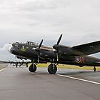 Lancaster Bomber  by Keith Larby