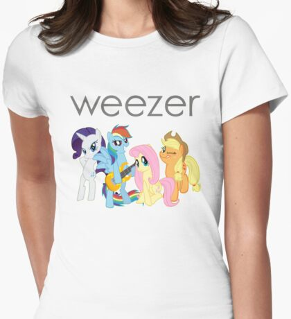 My Little Weezer Womens Fitted T-Shirt