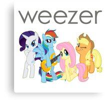 My Little Weezer Canvas Print