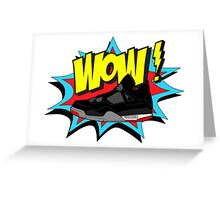 WOW! J4 Bred Greeting Card