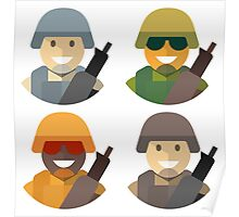 Army Soldiers Poster