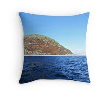 Ailsa Craig. Firth of Clyde, Scotland. Throw Pillow