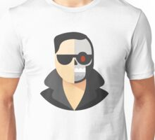 Terminator Robot Man Icon Unisex T-Shirt