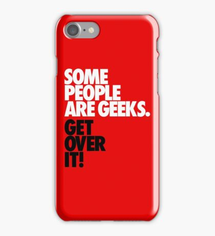 Some People Are Geeks iPhone Case/Skin
