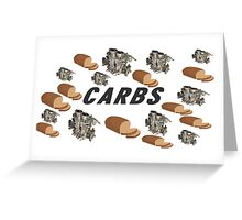 CARBS Greeting Card