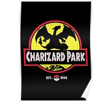 Charizard Park Poster