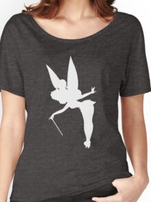 White Tinker Silhouette Women's Relaxed Fit T-Shirt