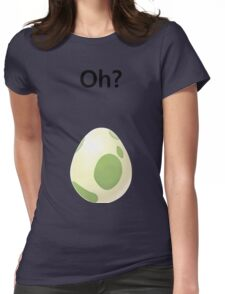 Pokemon Go Egg Womens Fitted T-Shirt