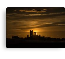 Sunset, Ely Cathedral, UK Canvas Print
