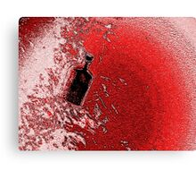 Demon Bottle Canvas Print