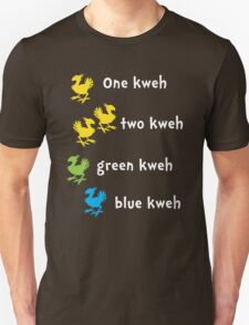 One Kweh Two Kweh Green Kweh Blue Kweh T-Shirt