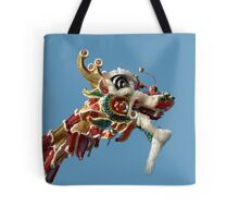 Up Close with a Dragon Tote Bag