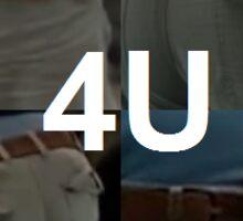 4U Sticker