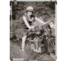 Brough Superior motorcycle - 1930s iPad Case/Skin