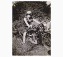 Brough Superior motorcycle - 1930s Kids Clothes