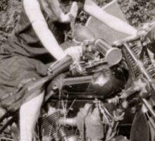 Brough Superior motorcycle - 1930s Sticker