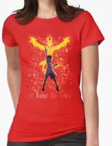 Pokemon Go - In Valor We Trust Womens Fitted T-Shirt