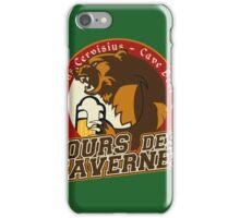 Cave Beer - Ours des Tavernes iPhone Case/Skin