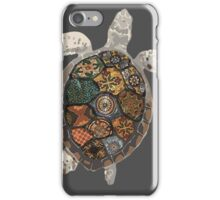 Watercolour Tiled Sea Turtle iPhone Case/Skin