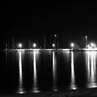 Night Lights (BW) by Vicki Spindler (VHS Photography)