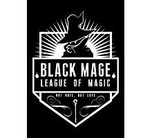 League of Magic: Black Photographic Print