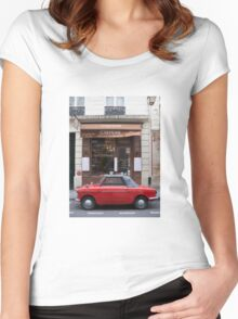 Autobianchi in Paris Women's Fitted Scoop T-Shirt