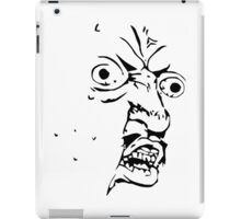 Y U NO - Meme iPad Case/Skin