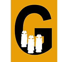 G is for Gallifreyans Photographic Print