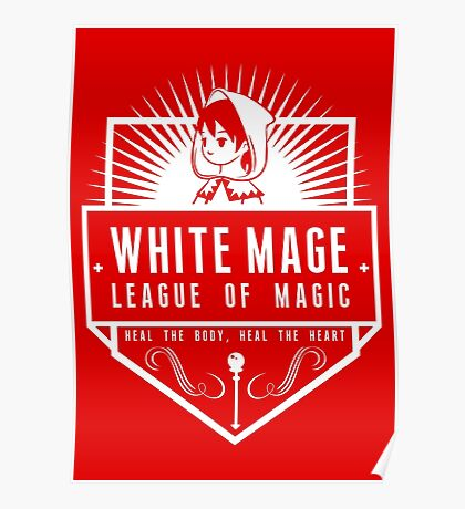 League of Magic: White Poster