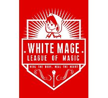 League of Magic: White Photographic Print