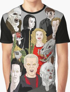 Buffy Big Bad Poster Graphic T-Shirt