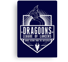 League of Lancers Canvas Print