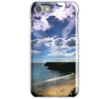 Barafundle - September Cloudscape. iPhone Case/Skin