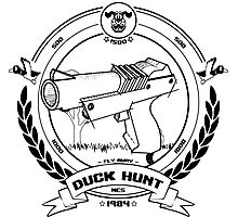 Duck Hunt - Black - Photographic Print