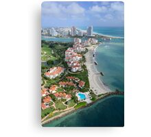 Miami: Fisher Island Canvas Print
