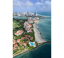 Miami: Fisher Island Photographic Print