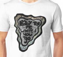 down a rabbit hole Unisex T-Shirt