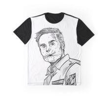Arseface - Eugene Root Preacher Graphic T-Shirt