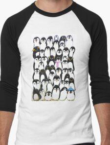 Huddled up Men's Baseball ¾ T-Shirt